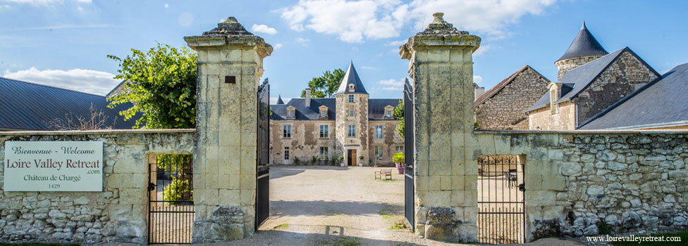 Welcome to Chateau de Chargé Loire Valley Retreat